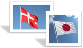 JP + DK Flag