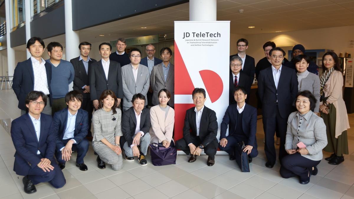 Japanese delegation visits JD TeleTech